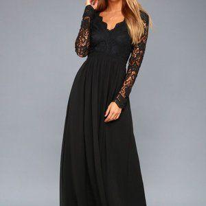 NEW Lulus M Awaken My Love Lace Open Back Dress